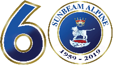 Sunbeam Alpine 60th Anniversary