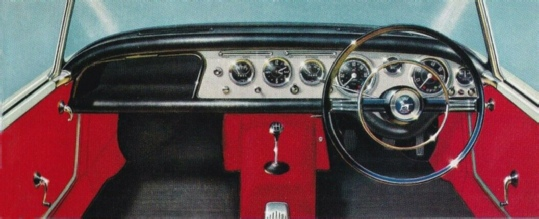 Sunbeam Alpine interior photo