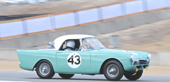 Sunbeam Alpine Track Racing