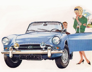 Sunbeam Alpine brochure picture