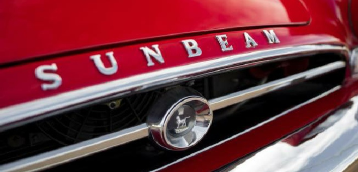 Sunbeam Alpine Grille